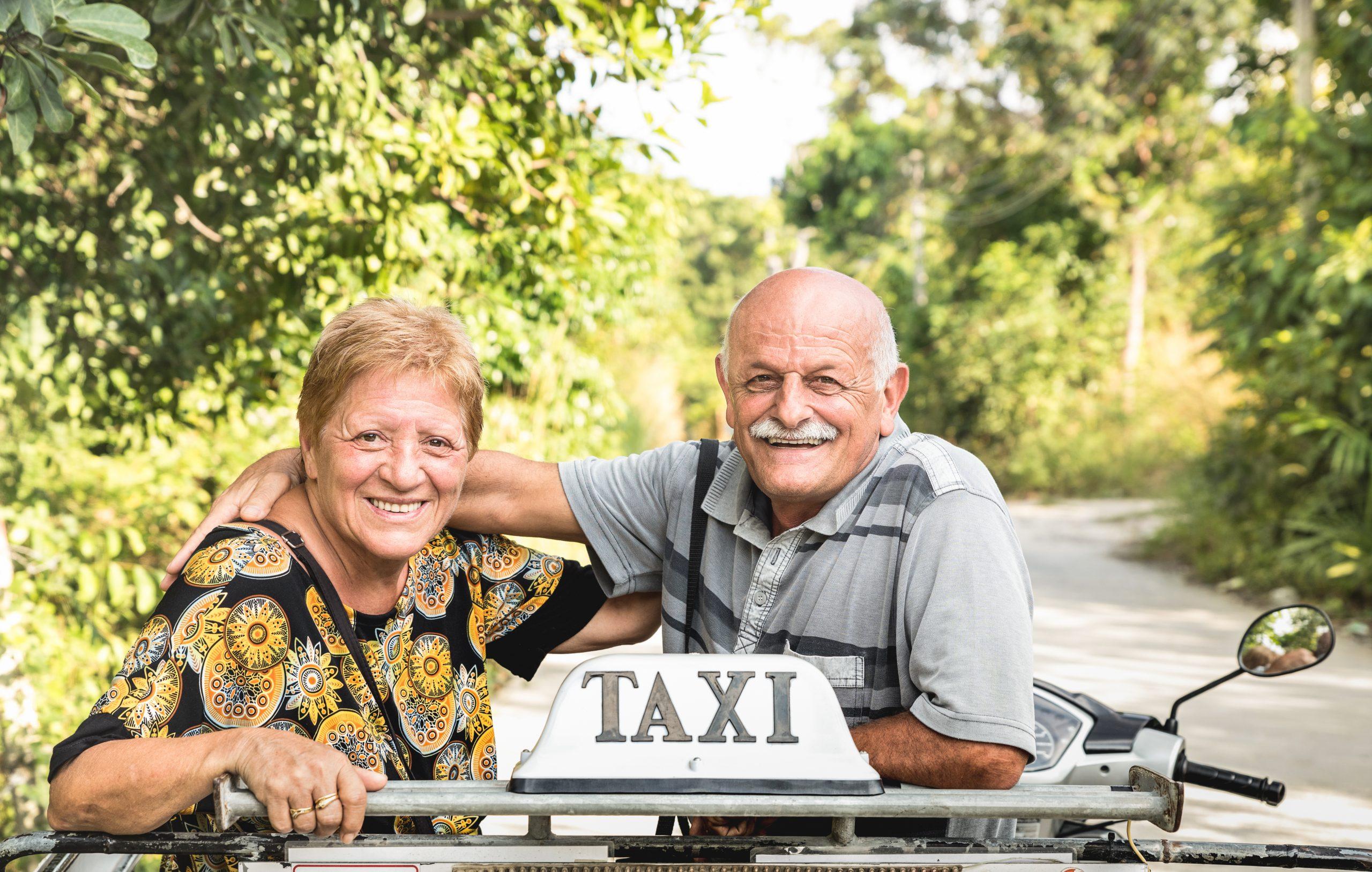 Pensionisten-Taxi-Gutschein