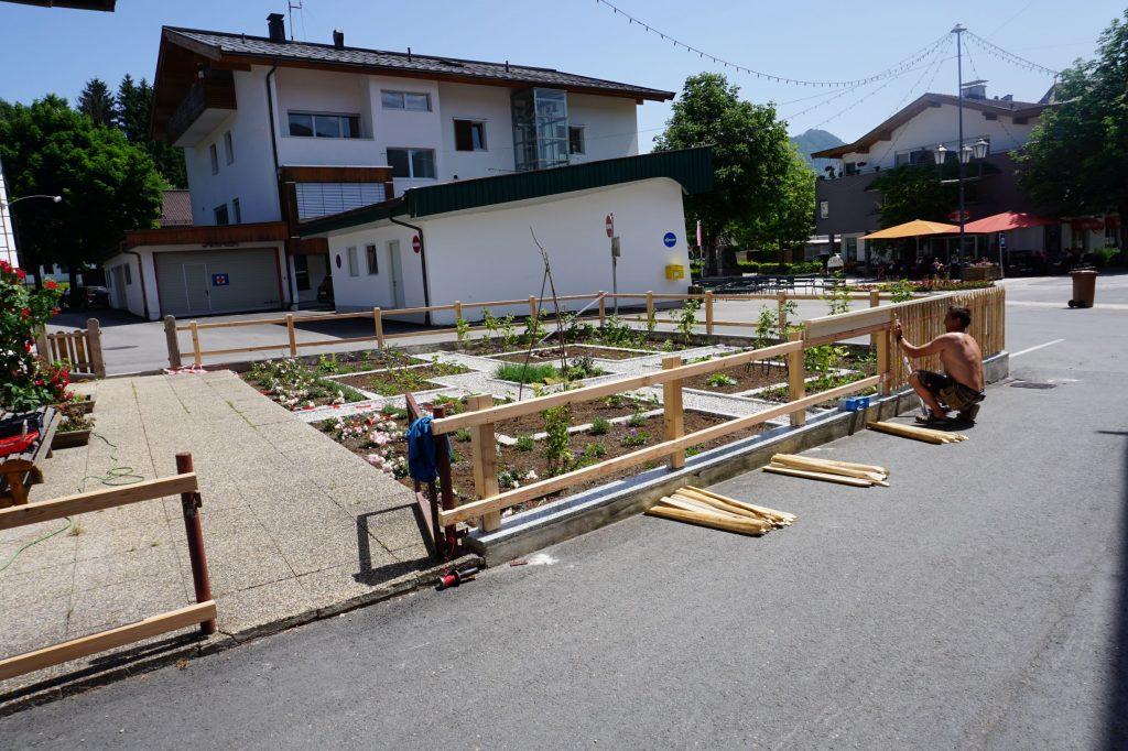 Bauerngarten für die Volksschule